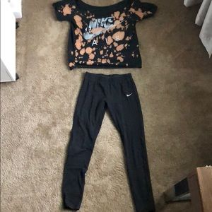 Cute girls Nike outfit size M